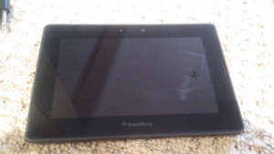 Blackberry Playbook 64gb with stand charger & case