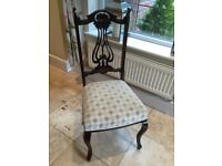 Vintage Decorative Carved Wooden Chair