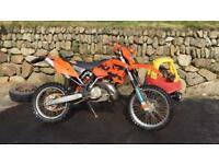 KTM exc 250 2 stroke