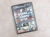 PS2 game GTA San Andreas, excellent condition