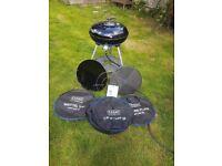 Cadac carri chef 2 gas bbq camping caravan garden outdoor cooking system