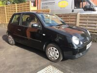 VW Lupo, black, extremely low mileage, perfect first car