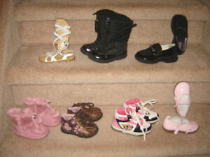 Baby and Toddler Footwear - sizes 3 to 10, Hats (Smr & Wntr)