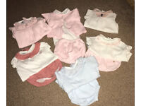 Spanish baby clothes 0-3 months
