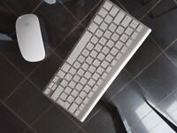 Apple Wireless Keyboard and Wireless Mouse