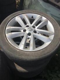Vauxhall VECTRA 1.9cdti 150 alloys