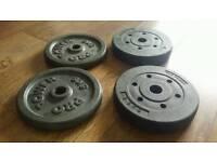 Pro power weights 2 x 5 KG 2 x 2.5