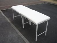 Unused Portable Beauty/Massage Table with Carrying Case