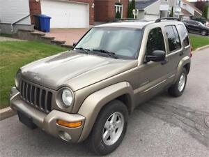 2003 JEEP LIBERTY LIMITED EDITION **4X4** AUTOMATIQUE V6 3,7L
