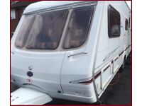 Swift 4 Berth Luxury Touring Caravan Ace Abbey Sterling Group.