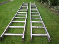 HAILO EXTENSION LADDERS