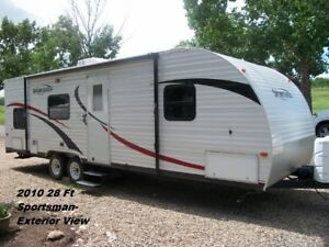 FOR RENT:  28FT Sportsman Travel Trailer