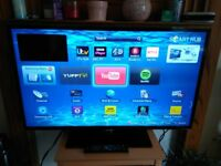 40 inch Samsung LED Smart TV flatscreen