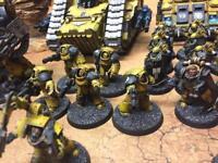 Warhammer 40k/30k terminators