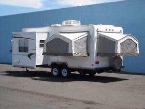 TRAILER FOR RENT-WE DELIVER-COMES WITH ALL AMENITIES