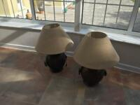 Lamps (two)