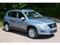 VW TIGUAN 2.0 TDi SE 5 DOOR 4x4 4 MOTION ONLY 65,000 MILES LOW MILEAGE DIESEL