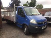Vauxhall Movano 2.5 cdti 13 ft plant / landscape truck 58 plate