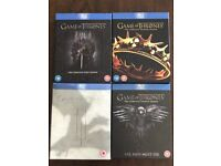 Game Of Thrones Series 1-4 Blu Ray