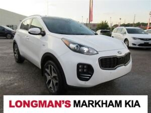 2017 Kia Sportage SX Turbo Fully Loaded One Owner