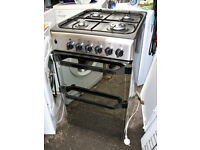 INDESIT GAS COOKER.50CMS WIDE.FREE DELI VERY B,MOUTH AND LYMINGTON AREAS
