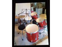 Set of drums
