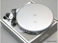 NEW NEVER BEEN USED ALBA PERSONAL CD PLAYER