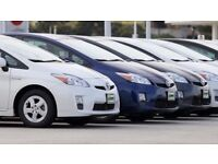 PCO CARS HIRE RENT-HYBIRD+PRIUS FROM £100 PER WEEK UBER READY