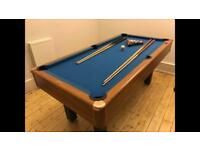 Pool table 6ft x 3ft