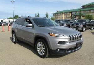 2016 Jeep Cherokee Limited  w/ Tech, Safety, Sunroof