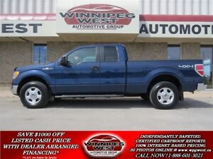 2011 Ford F-150 XLT SUPERCAB 5.0L V8 4X4,LOW K'S,SATELLITE, CLEA