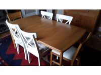 Nearly new Extending Dining Table