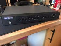 Cctv DVR AlienHero 4 channel dvr system with 500gb harddrive,may swap