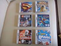 6 X Nintendo DS Games