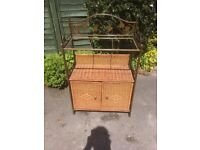Wicker Cupboard