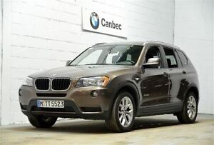 2013 BMW X3 xDrive28i PANORAMIQUE SUNROOF | CERTIFIED SERIES