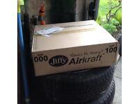 Jiffy envelopes size 000 x100
