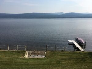 Beautiful all season lakefront home for sale on Moberly Lake