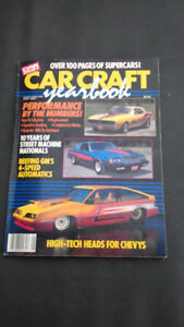 Actual # 1 Car Craft Yearbook 1987
