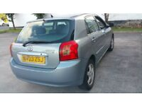 toyota corolla T3 1.6 vvti 03 plate AIR CONDITION,5 door mint runner,PX WELCOME!!!!!!!!!!!!!!!!!!!!!