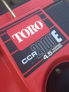 TORO POWERCLEAR SNOWBLOWER WITH ELECTRIC START