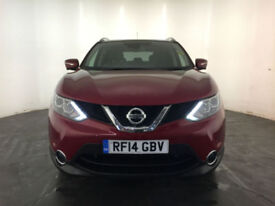 2014 NISSAN QASHQAI TEKNA DCI 1 OWNER NISSAN SERVICE HISTORY FINANCE PX WELCOME