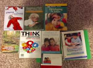 Early Learning and Development Textbooks (7 Books)