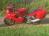 Ducati st2 only 12000 miles