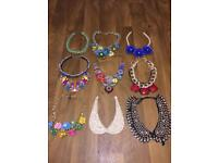 Women's jewellery Statement chunky necklaces sparkle Chokers job lot bulk buy wholesale