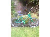 Boy's football bike - Raleigh