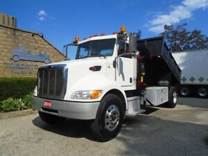 2010 Peterbilt PB 335 Heavy spec,Double frame,Steel dump body.