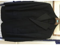 MARKS & SPENCER gents black evening suit