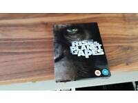 Rise of the Planet of the Apes steel book Bluray dvd