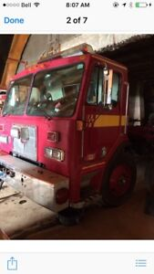 Parting out peterbuilt single axle cab over